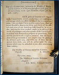 xyz affair essay French for a bribe as a condition for negotiating with american diplomats that became known as the xyz affair john adams took presidency in 1797 and.